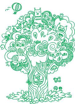 Baum Corporate Brand Kinderarztpraxis Grit Euler